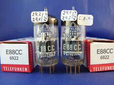 Matched Pair E88CC/CCa Telefunken    # NOS # same production codes (9938)
