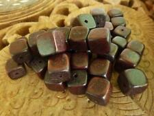 Unbranded Wooden Square Jewellery Making Beads