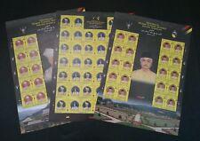 Sultan Negeri Sembilan 2009 Malaysia King People Royal (sheetlet) MNH *rare