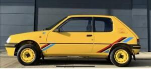 Peugeot 205 Rallye Decal Kit