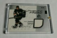 R9155 - MARIO LEMIEUX - 2001/02 SP GAME USED - FABRIC JERSEY - PENGUINS -