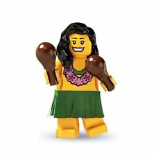 Lego Hula Dancer minifig Hawaiian Aloha Town City 8803 Minifigures Series 3