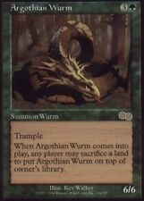 1x Argothian Wurm Moderate Play, English Urza's Saga MTG Magic