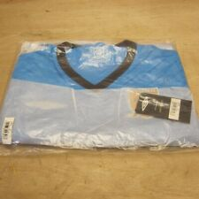 Hull City 2009 10 Away Football Shirt Jersey Blue Short Sleeve Men's L NEW BNWT