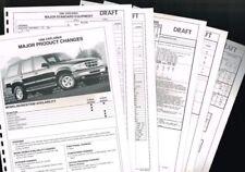 Revistas, manuales y catálogos de motor Explorador Ford