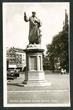 Haarlem  Standbeeld Laurens Janszoon Coster