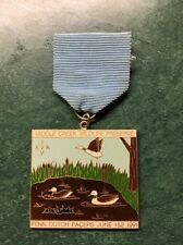 Baloney Stompers Volksmarch Club 1991 Medal, Middle Creek Wildlife Reserve