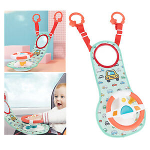 Baby Car Seat Backseat Driver Steering Wheel Toy Infant Role Play Game