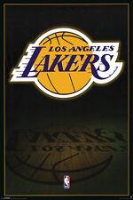 #Z116 Lakers Logo Poster 24X36