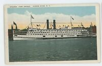 Fort Orange Steamer HUDSON RIVER NY Vintage New York Postcard
