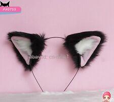 Tokyo Mew Momomiya Ichigo Cosplay Party Neko Cat ears Headband Hair band Black