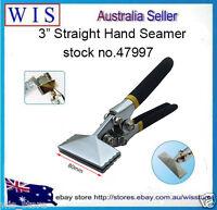 3 inch Straight Jaw Manual Metal Bender Tool Sheet Metal Bending Pliers-47997