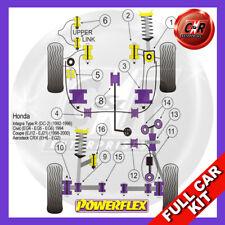 Honda CRX Del Sol EG1, EG2, EH1 & EH6 (92-98)   Powerflex Complete Bush Kit