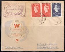 Suriname nr 274/275 op eerste dag brief