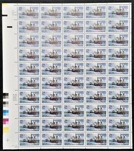 1993 Columbus Landing in Puerto Rico 29 Cents Full Sheet 50 Stamps MNH SC #2805