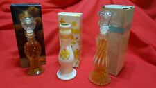 Vintage Avon  Regency,  Opalique &  Buttercup  Candlesticks-new-old stock