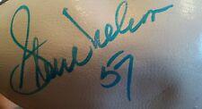 Vintage  Autographed STEVE NELSON Wilson National Football League Football