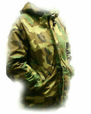US Cavalry Military ECWCS Cold Weather Gore-Tex Camo Parka, SIZE SMALL, NEW