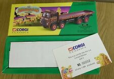 Corgi 24401 The Showmans Range Leyland 8 Wheel Rigid Truck Set Ltd 00002/14300