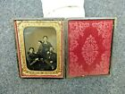 Civil War Daguerreotype and Case, 1/4 Plate-Family