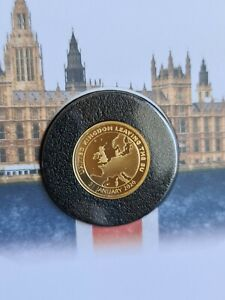 1/4oz Gold Proof Commemorative for 2020 Brexit