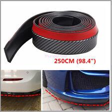 2.5m Car Body Kit/Bumper Lip/Side Skirt Rubber Carbon Fiber Look Edge Protector