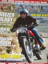 Classic Bike Guide 04/06 Velocette Thruxton,Unit BSA Twins,Triumph Scrambler 900