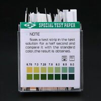 100 Strip PH 4.5-9 Indicator StripsPaper Litmus Tester Laboratory Urine & Saliva