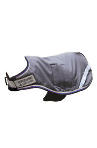 Horseware Ireland - Waterproof Goat Coat - Excalibur Silver & Blue - Medium