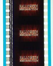 35mm - ORIGINAL CINEMA 35MM TRAILER -  HALLOWEEN RESURRECTION