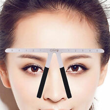 Microblading Eyebrow Stencil Makeup Reusable Measuring Shaper Tattoo Ruler Tool