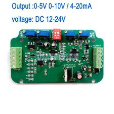 0-10V/4-20mA Load Cell sensor Amplifier Transmitter voltage current converter AA