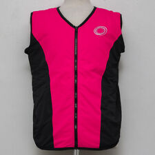 Women's Polar Vortex Cool Pink and Black Sleeveless Vest Medium Sized