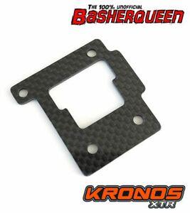 Basherqueen Carbon Fiber Motor Riser Team Corally Kronos XTR 2mm