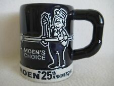 RARE Stanadyne Moen Faucets Coffee Mug Plumbing Plumber Ceramarte Brazil 1981