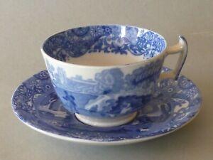 Copeland Spode Italian (Blue B/S) - 1 Tea Cup and Saucer