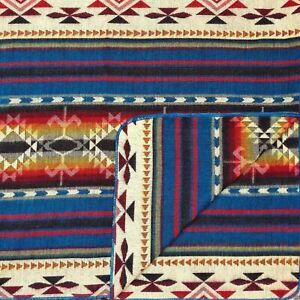 "EXTRA LARGE SOFT & WARM ALPACA WOOL BLANKET 75""x90"" (195x230 cm) AZTEC SOUTHWEST"