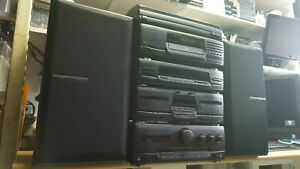 KENWOOD HiFi 5 pieces Stack system separates A-45 X-45 T-85L DP-950 P26 LS-45 #1