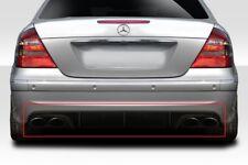 Mercedes W211 E class Rear Diffuser AMG Bumper Only Fiberglass