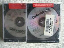 Geniune Microsoft Windows NT Workstation 4.0 sealed CD & Manuals