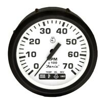 Faria Boat Tachometer Gauge TC4021-1A   Suzuki w/ Systems Check