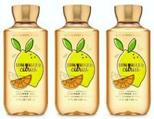 Bath & Body Works SUN-WASHED CITRUS Shower Gel 10 oz x 3 Lot