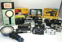 Huge Lot Vintage Cameras Smith-Victor Kodak Ansco Vivitar Bell+Howell Keystone