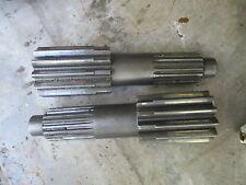 1975 Massey Ferguson 1105 tractor bull pinion brake shafts FREE SHIPPING