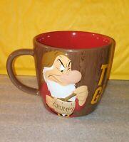 Grumpy Disney Parks Mug / Tired & Grumpy / Coffee Tea Home Office Decor