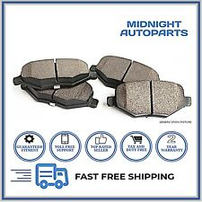 Ceramic w/Hardware Rear Brake Pad For Hyundai Elantra, Nissan Maxima, Stanza