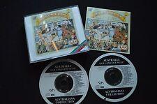 AUSTRALIA OUR LAND OUR MUSIC RARE 2 X CD! SLIM DUSTY ERIC BOGLE LIONEL LONG X