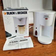 Black & Decker DCM7 Cup-At-A-Time Personal Coffeemaker White