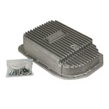 B&M Chevy 4L80E Deep Finned Aluminum Transmission Pan 3 Qts Extra Cap 70295