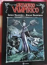 GRIMORIO VAMPIRICO_JORGE MADEJON_Libro Cómic Terror 2008